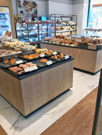 Interior of bakery @ Hapjeong