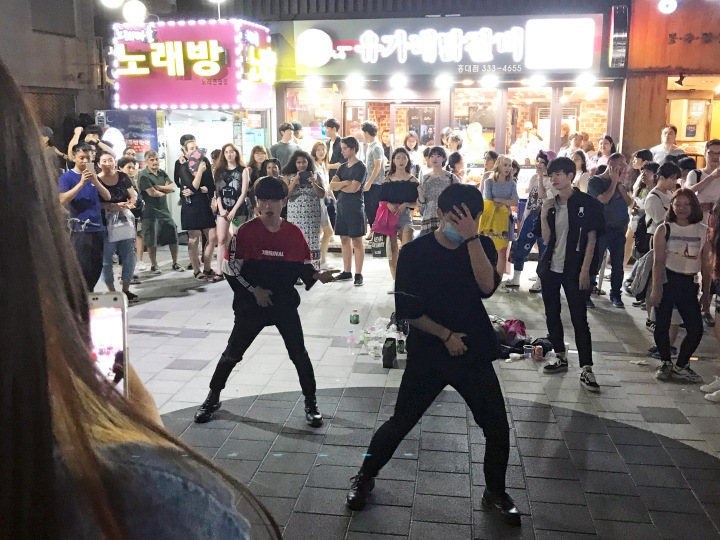 Busking Performances in Hongdae