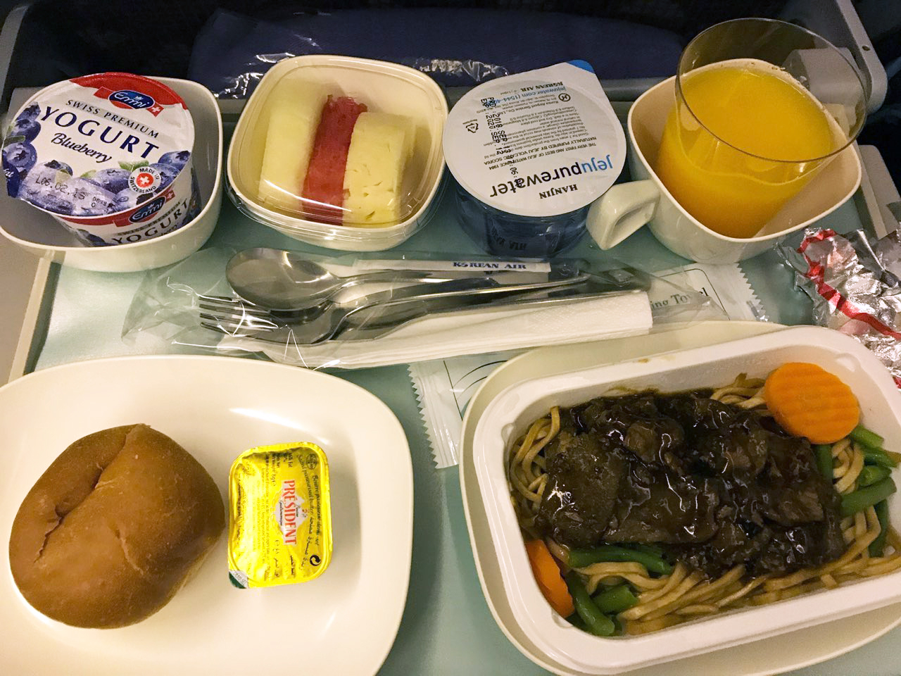 Korean Air food 3