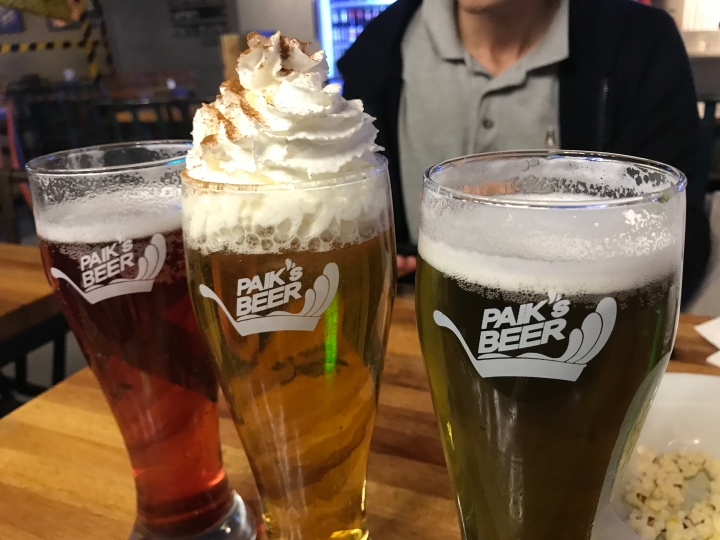Paik's Beer (Sinchon)
