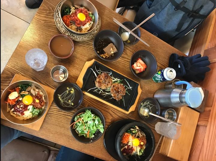 Emokdae 이목대 (Jeonju):Bibimbap