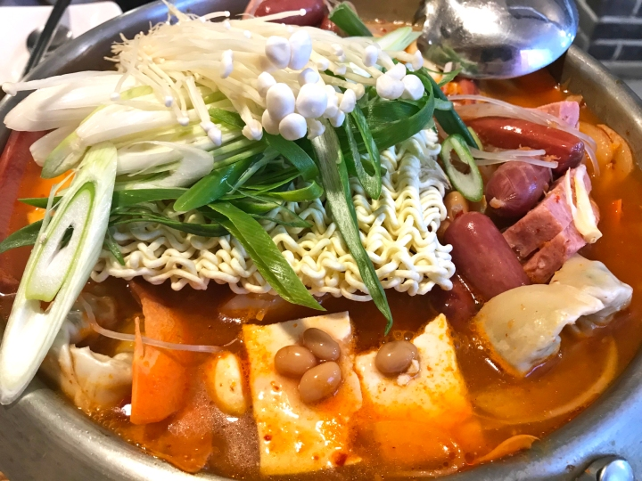 Myeongdong 56th: Army Stew in Seoul